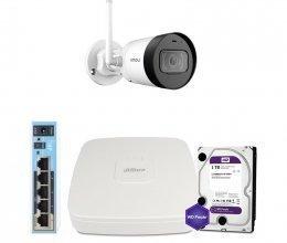 IP комплект видеонаблюдения Dahua WiFi-4M-1OUT-HOME-G42P-HDD