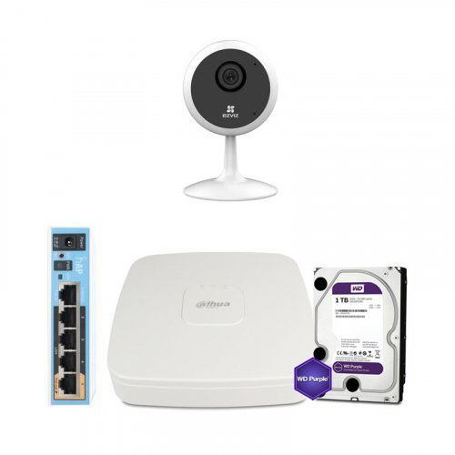 Ezviz WiFi-1M-1IN-HOME-D0-1D1WFR-HDD