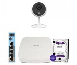 IP комплект видеонаблюдения Ezviz WiFi-2M-1IN-HOME-D0-1D2WFR-HDD