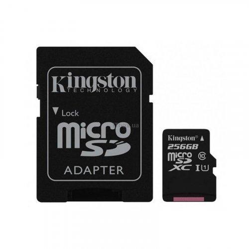 Карта памяти Kingston MicroSD 256Gb