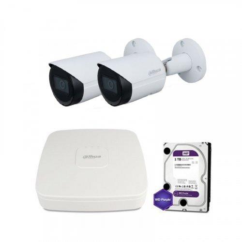 IP комплект видеонаблюдения Dahua IP-4M-2OUT-P-Lite