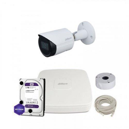 IP комплект видеонаблюдения Dahua IP-4M-1OUT-P-Lite-Full