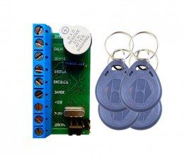 Комплект СКД ATIS контроллер NM-Z5R (1шт) + RFID KEYFOB EM-Blue (4шт)