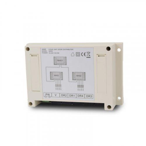 Коммутатор 4 вызывных панелей Tantos TS-NH2
