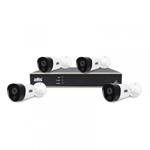 AHD комплект видеонаблюдения ATIS PIR kit 4ext 5MP