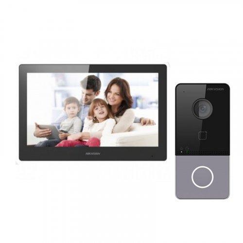 Комплект домофона Hikvision DS-KH8520-WTE1 и Hikvision DS-KV6113-WPE1