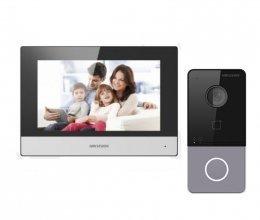 Комплект домофона Hikvision DS-KH6320-WTE1 и Hikvision DS-KV6113-WPE1