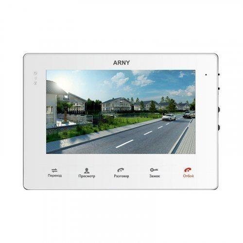 Видеодомофон ARNY AVD-710M White