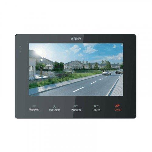 Видеодомофон ARNY AVD-710M Black