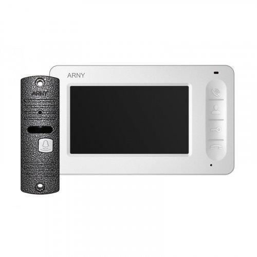 Комплект домофона  ARNY AVD-4005 Белый \ Серый