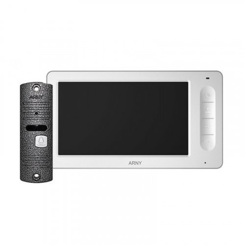 Комплект домофона  ARNY AVD-7006 Белый \ Серый