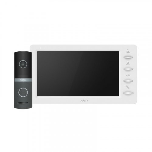 Комплект видеодомофона ARNY AVD-7030 1MPX White + Graphite
