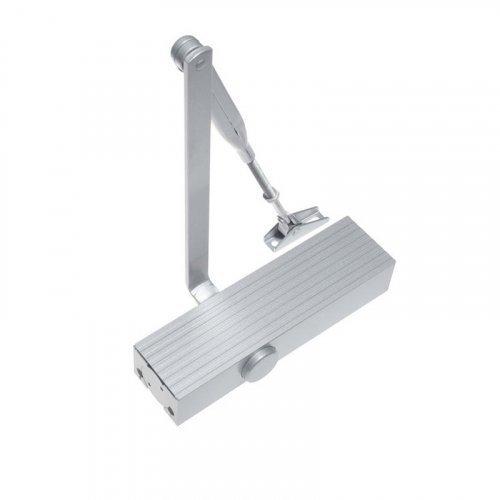 Доводчик двери ECO-Schulte TS-11 ЕN 2/3/4/5 локтевая тяга с фиксацией (Белый)