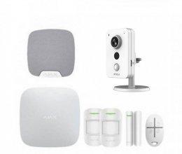 Комплект сигнализации Ajax для квартиры + камера IMOU IPC-K22P