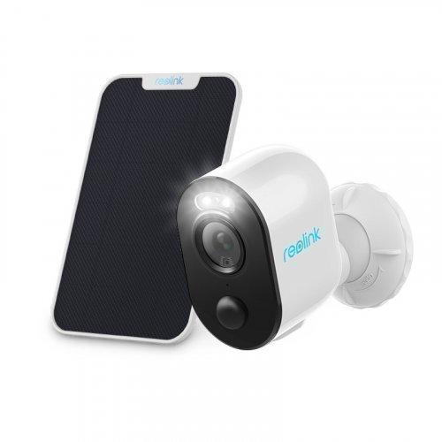 Автономная Wi-Fi IP Камера с аккумулятором Reolink Argus 3 + солнечная панель