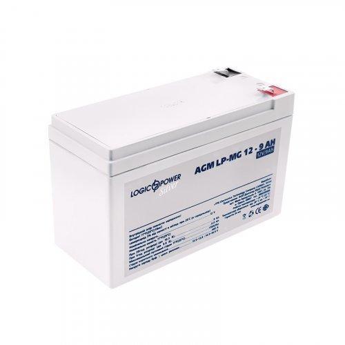 LogicPower AGM LP-MG 12 - 9 AH SILVER