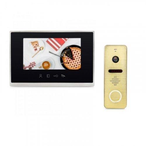 Комплект домофона LightVision MACAO FHD WiFi Black и LightVision RIO FHD Gold