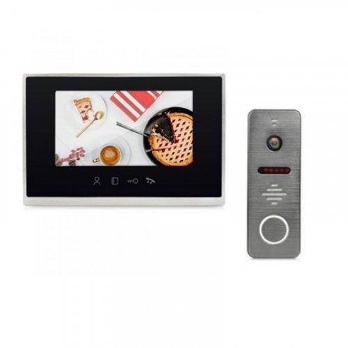 Комплект домофона LightVision MACAO FHD WiFi Black и LightVision RIO FHD Graphite