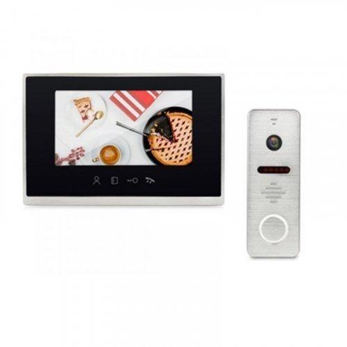 Комплект домофона LightVision MACAO FHD WiFi Black и LightVision RIO FHD Silver