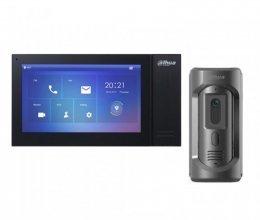 Комплект домофона  Dahua DHI-VTH2421FB-P и Dahua DHI-VTO2101E-P-S1