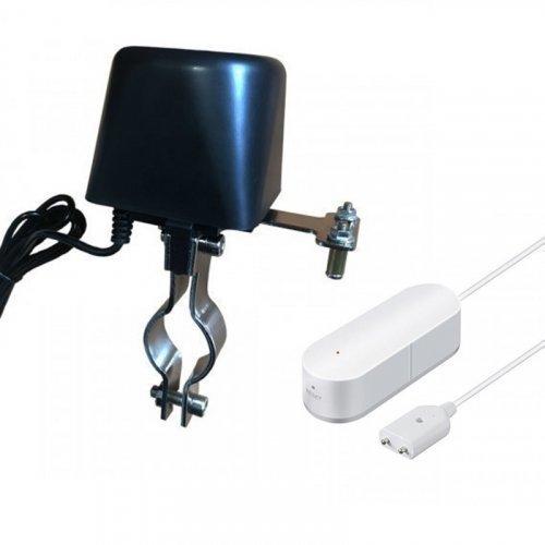 Комплект защиты от потопа Tuya Smart WIFI электропривод + WIFI датчик затопления