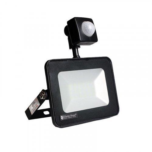 LED прожектор с датчиком движения Electro House EH-LP-212