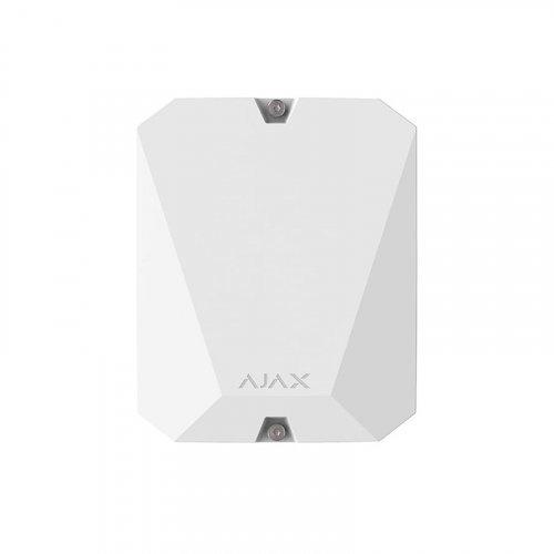 Модуль интеграции сторонних проводных устройств Ajax MultiTransmitter белый