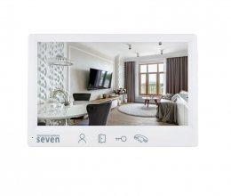 Видеодомофон SEVEN DP–7571 FHD white