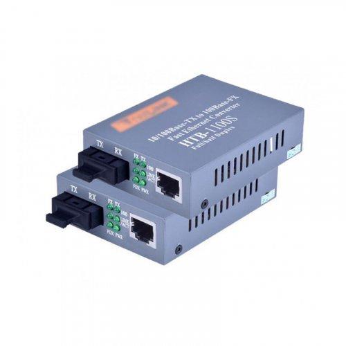 Медиаконвертер Пара HTB-GS-03 A/B 10/100/1000Mb, 20км, SC Порт