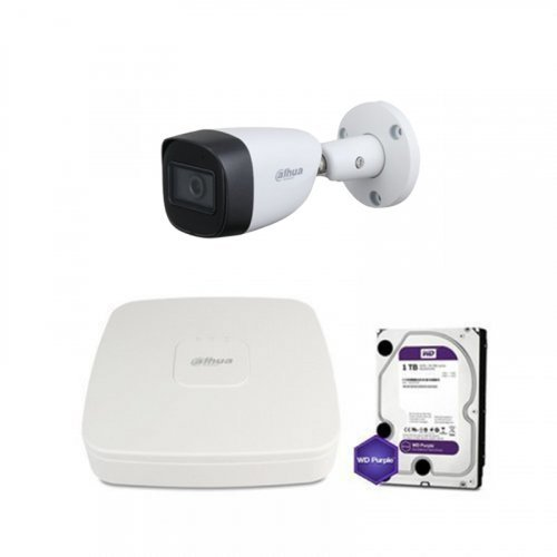 HDCVI комплект видеонаблюдения Dahua CVI-2M-1OUT-Lite-MP