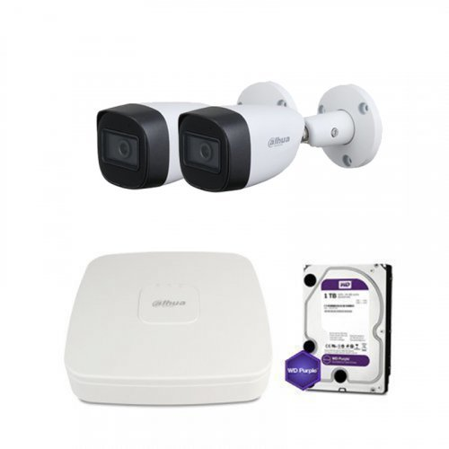 HDCVI комплект видеонаблюдения Dahua CVI-2M-2OUT-Lite-MP