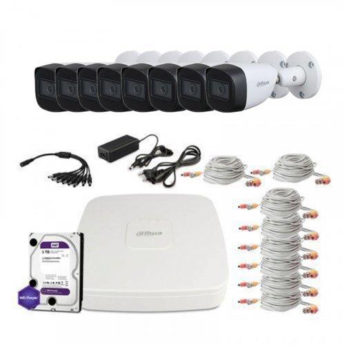 HDCVI комплект видеонаблюдения Dahua CVI-2M-8OUT-Lite-MP-Full