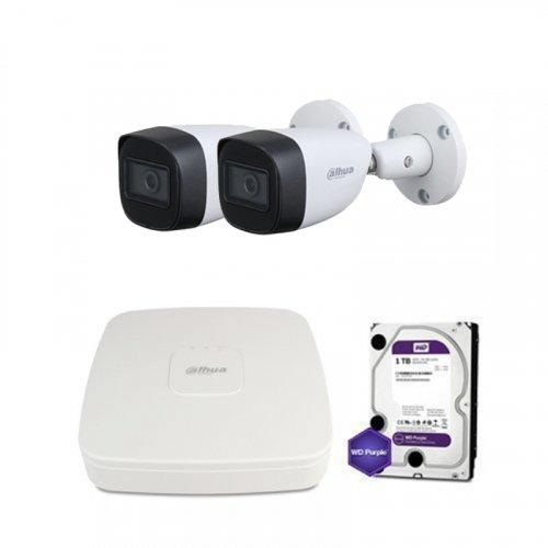 HDCVI комплект видеонаблюдения Dahua CVI-4M-2OUT-Lite-MP