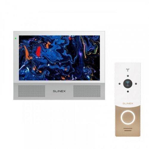 Комплект домофона Slinex Sonik 10 White и Slinex ML-20HD White