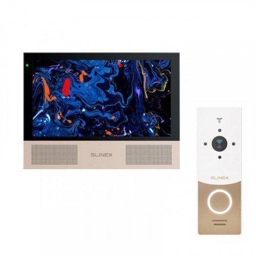 Комплект домофона Slinex Sonik 10 Black и Slinex ML-20HD White