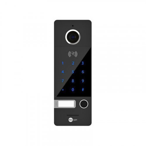 Вызывная панель NeoLight Optima ID Key FHD Black
