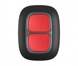 Беспроводная тревожная кнопка Ajax DoubleButton черная