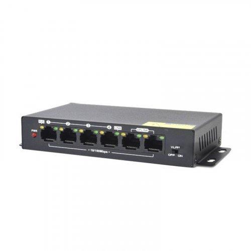 PoE коммутатор Atis PoE-1006-4P Pro