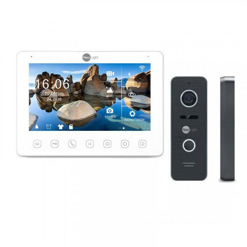 Комплект домофона NeoLight OMEGA+ HD WF и Prime FHD (Pro) Black