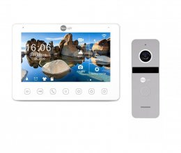Комплект домофона NeoLight OMEGA+ HD WF и Solo FHD Silver