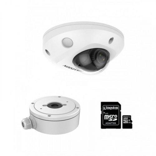 IP комплект видеонаблюдения для парадного с камерой DS-2CD2523G0-IWS + монтаж