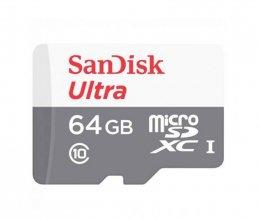 Карта памяти SanDisk MicroSD 64Gb