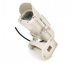 Муляж наружной камеры с солнечной панелью IN11G