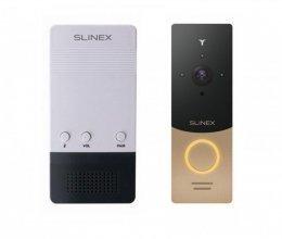 Комплект беспроводного звонка Slinex CH-01 и Slinex ML-20IP Gold+Black