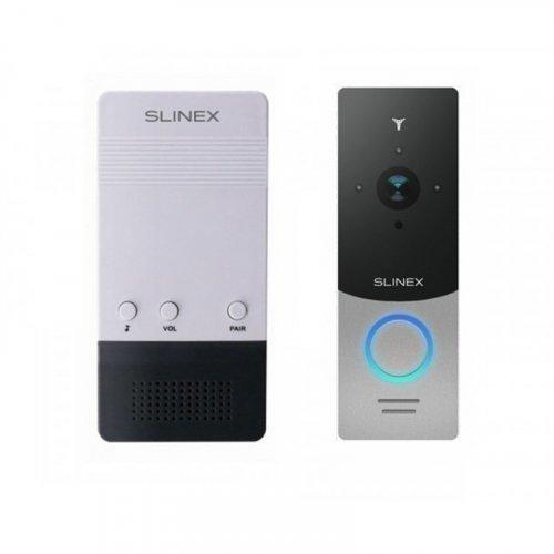 Комплект беспроводного звонка Slinex CH-01 и Slinex ML-20IP Silver+Black