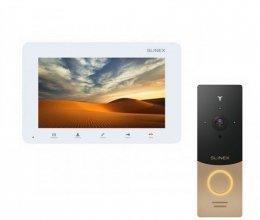 Комплект домофона Slinex SM-07MN White и Slinex ML-20IP Gold+Black