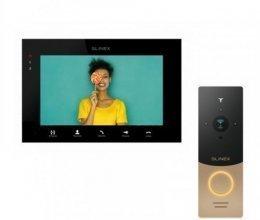 Комплект домофона Slinex SQ-07MTHD Black и Slinex ML-20IP Gold+Black