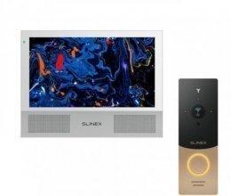 Комплект домофона Slinex Sonik 10 White и Slinex ML-20IP Gold+Black