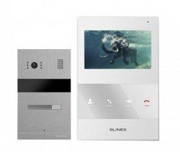 Комплект домофона Slinex SQ-04M White и Slinex MA-01