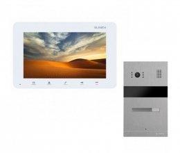 Комплект домофона Slinex SM-07MN White и Slinex MA-01